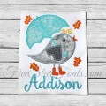 Fall Bird Applique
