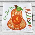 Peanut Pumpkin Monogram