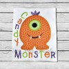 Candy Monster Applique