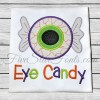 Eye Candy Eyeball Applique