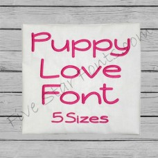 Puppy Love Font