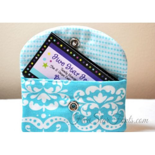 Snappy business card case in the hoop reheart Images