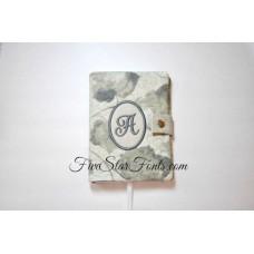 Monogram 6X4 Spiral Notebook Cover In the Hoop