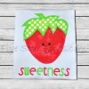 Sweetness Strawberry Applique