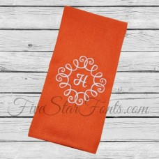 Swirly Monogram Frame 1