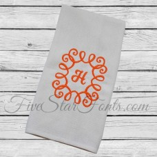 Swirly Monogram Frame 2
