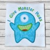 Monster Hugs Applique