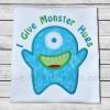 Monster Hugs Applique