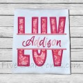 Split LUV Applique
