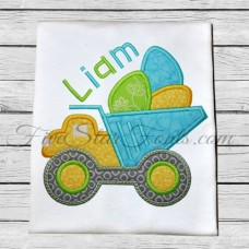 Easter Egg Truck Applique