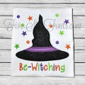 Be-Witching Witch Hat Applqiue