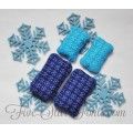 In the Hoop Snowflake Quilted Hand Warmers