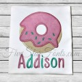 Doughnut Applique