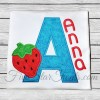 Strawberry Applique Font