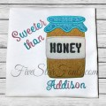 Honey Jar Applique