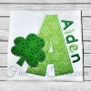 Shamrock Applique Font