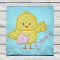 Heart Chick Applique