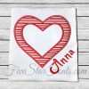 Heart Frame Valentine Applique