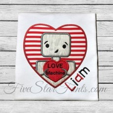Love Machine Robot Applique