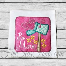 Mailbox Love Valentine Applique