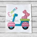 Scooter Love Applique