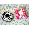 In the Hoop Pieced Pin Cushions 2 Sizes, 2 styles