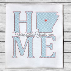 Home State AR Quick Stitch Designs Arkansas