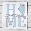 Home State IL Quick Stitch Designs Illinois