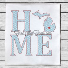 Home State MI Quick Stitch Designs Michigan