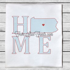 Home State PA Quick Stitch Designs Pennsylvania