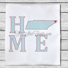 Home State TN Quick Stitch Designs Tennessee