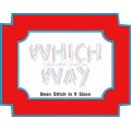 Which Way Font Quick Bean Stitch