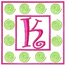 Curly Swirly - Monogram Font 43