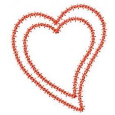 FREE - Deco Heart Applique Frame