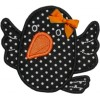 Sweet Halloween Raven Applique