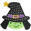 Sweet Witch Applique