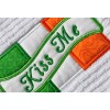 Kiss Me Irish Flag Applique