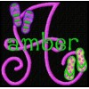 Flip Flops - Monogram Font 25