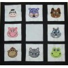 Applique Animal Faces Set