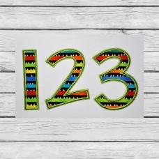 Applique Numbers 5