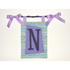 Artsy Monogram Banner In the Hoop EASY!!