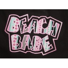 Exclusive BEACH BABE Double Applique