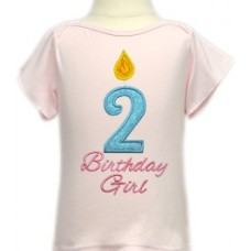Birthday Candle Applique Numbers