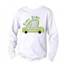 Zoom Zoom Car 2 Applique