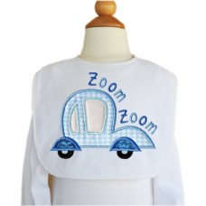 Zoom Zoom Car 1 Applique