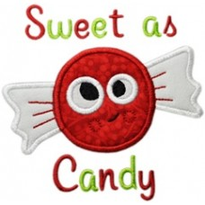 Silly Sweet Christmas Candy Applique