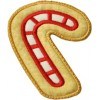 Christmas Cookie Ornament + MTM Applique - Candy Cane