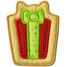 Christmas Cookie Ornament + MTM Applique - Present