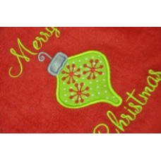 Mod Christmas Ornament Applique