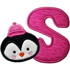 Penguin Applique Font
